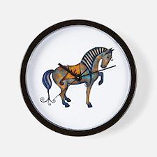 Tang Horse #2 Wall Clock
