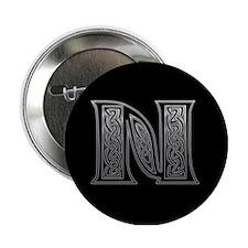 N Monogram Button