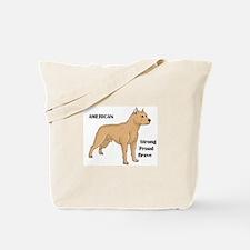 American Cartoon Dog Tote Bag