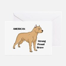 American Cartoon Dog Greeting Cards (Pk of 10)
