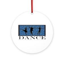 Dance Styles Trio Ornament (Round)