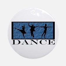 Dance Styles Trio Ornament (Round)