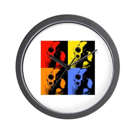 Four Color Sig Wall Clock