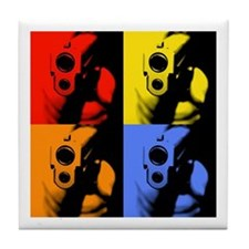 Four Color Sig Tile Coaster
