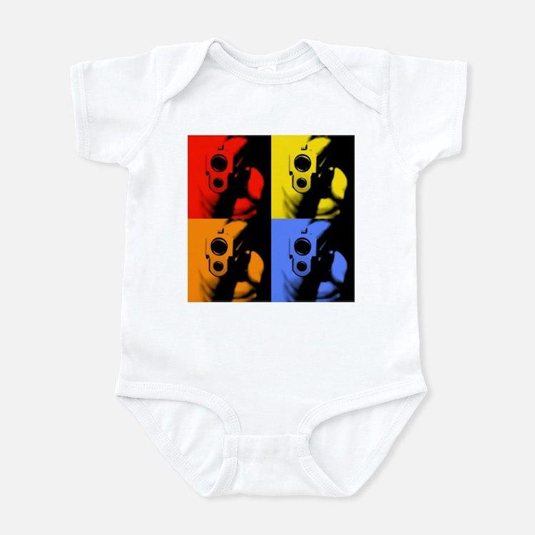 Four Color Sig Infant Bodysuit