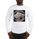 Silver Buffalo-Indian Long Sleeve T-Shirt