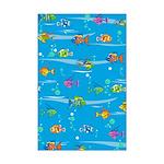 Tropical Fish Mini Poster Print