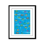 Tropical Fish Small Framed Print