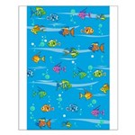 Tropical Fish Small Poster