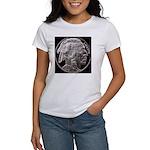 Silver Indian-Buffalo Women's T-Shirt