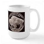 Silver Indian-Buffalo Large Mug