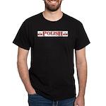 Polish Flag / Poland Gifts Black T-Shirt
