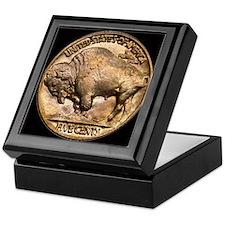 Nickel Buffalo Keepsake Box