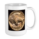 Nickel Buffalo Large Mug