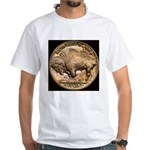 Nickel Buffalo White T-Shirt