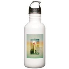 Unique Christian lighthouse Water Bottle