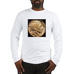 Nickel Indian-Buffalo Long Sleeve T-Shirt