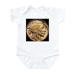 Nickel Indian Head Infant Creeper