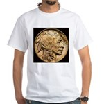 Nickel Indian Head White T-Shirt