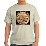 Nickel Indian Head Ash Grey T-Shirt