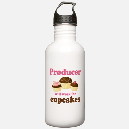 Funny Producer Water Bottle