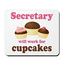 Funny Secretary Mousepad