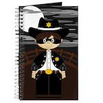 Cute Masked Cowboy Journal