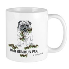 Christmas Pug Holiday Dog Mug