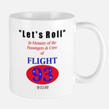 """Warning: We Fight Back"" Flight 93 Mug"