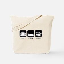 Eat Sleep Drum Eat Sleep Drum Tote Bag