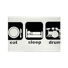 Eat Sleep Drum Eat Sleep Drum Rectangle Magnet