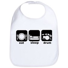 Eat Sleep Drum Eat Sleep Drum Bib