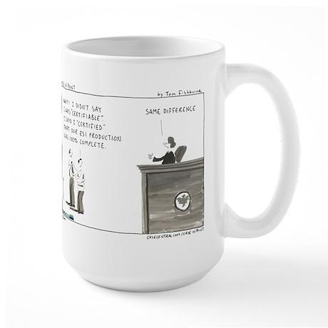 Certifiable Large Mug
