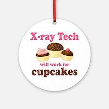 Funny X-Ray Tech Ornament (Round)