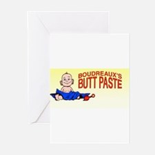 Butt Paste Greeting Cards (Pk of 10)