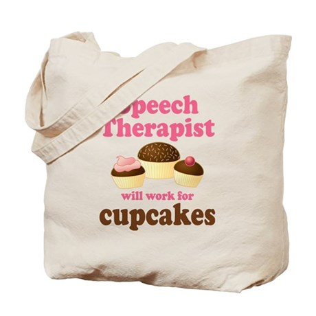 Funny Speech Therapist Tote Bag
