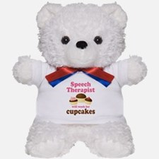 Funny Speech Therapist Teddy Bear