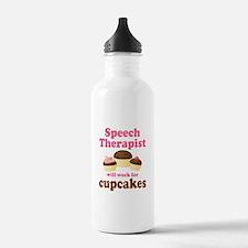 Funny Speech Therapist Water Bottle