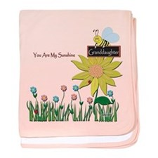 You Are My Sunshine Infant Blanket (Granddaughter)