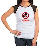 Do not touch sign Women's Cap Sleeve T-Shirt