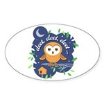 Deet, Deet, Deet Sticker (Oval)