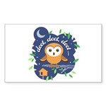Deet, Deet, Deet Sticker (Rectangle 50 pk)