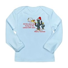 Christmas Cactus Long Sleeve Infant T-Shirt