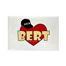 NCIS Bert Rectangle Magnet