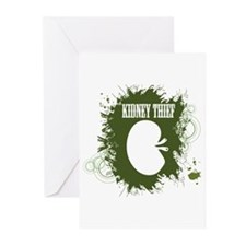 Kidney Thief Greeting Cards (Pk of 20)