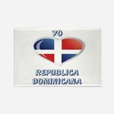 REP. DOMINICANA Rectangle Magnet