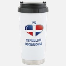 REP. DOMINICANA Stainless Steel Travel Mug