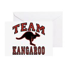 Team Kangaroo Greeting Card