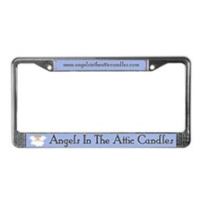 Angels In The Attic Candles License Plate Frame