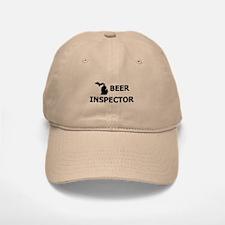 Michigan Beer Inspector Baseball Baseball Cap